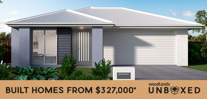 Unbox your brand new home from $327,000*