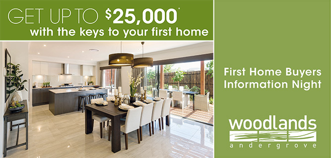 Free First Home Buyers Information Night, March 28 at 6pm